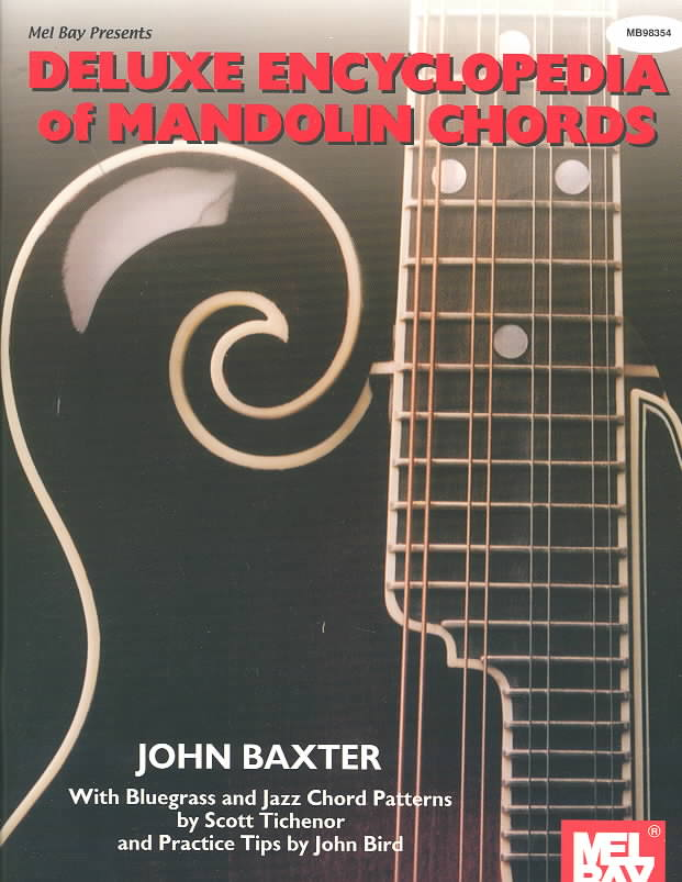 Deluxe Encyclopedia of Mandolin Chords By Baxter, John